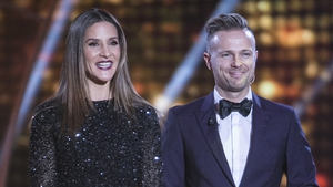 DWTS hosts Amanda Byram and Nicky Byrne