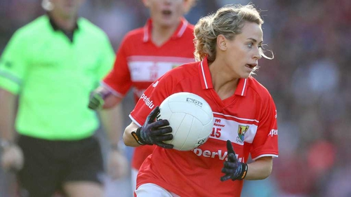 Cork's Orla Finn finished with a personal tally of 1-04 in the win over Mayo