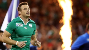 Tommy Bowe was left out for the trip to Italy