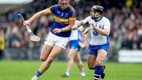 Waterford's Noel Connors tackles Steven O'Brien of Tipperary