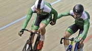 Mark Downey and Felix English claimed gold for Ireland