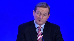 Enda Kenny is expected to indicate his intentions at a Fine Gael meeting on Wednesday