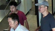 Three of the five suspects in the murder of Kim Jong Nam