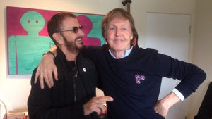 Ringo Starr and Paul McCartney have been working on a new collaboration