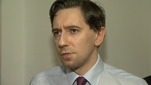 Simon Harris said the time was not right for him to run