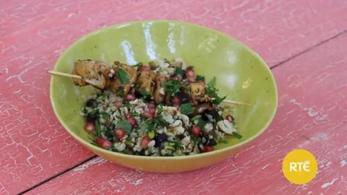 Dublin Cookery School: Chicken Skewers & Salad