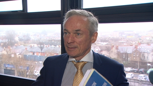 Minister Richard Bruton signed the CETA deal in 2014