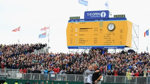 Darren Clarke triumphed at Royal St George's when the course last staged The Open in 2011