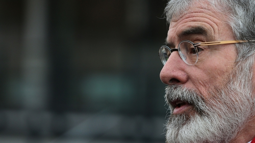 Gerry Adams said if the British have their way we are going to have a hard economic border on this island
