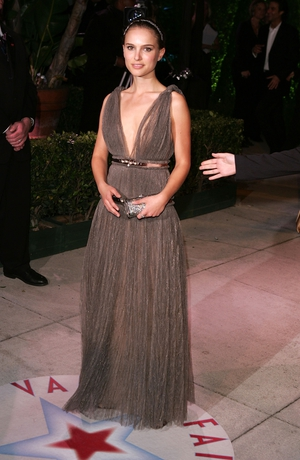 Looking etheral in this Lanvin gown at the Vanity Fair Oscar Party in 2005.