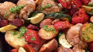 Paul's Provençal roast chicken: Today