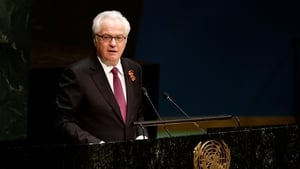 Vitaly Churkin was the Russian ambassador to the United Nations