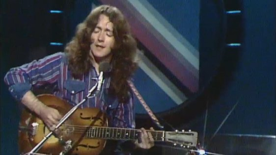 Rory Gallagher performing on 'Me And My Music' (1977)