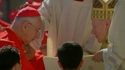Desmond Connell was made a cardinal by John Paul II in 2001