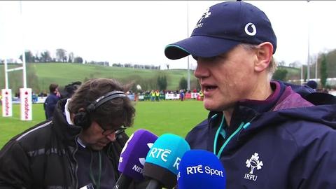 Joe Schmidt's Ireland injury update