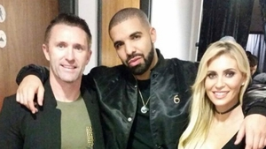 Keeping up with Keanes: Drake gets his party on with Robbie and Claudine