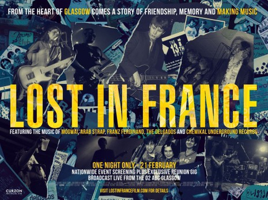 """Lost In France"", a music documentary by Niall McCann"