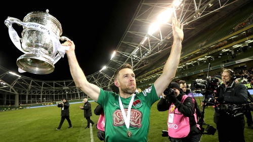Alan Bennett finally got his hands on the FAI Cup last year