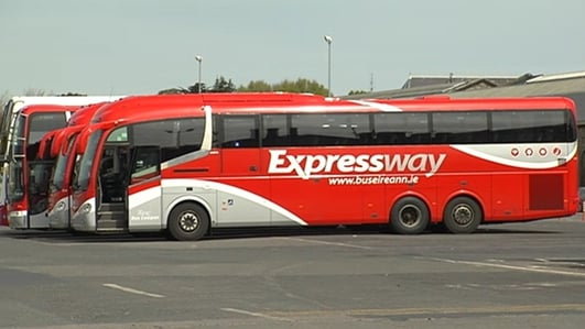 Bus Eireann Talks Break Down