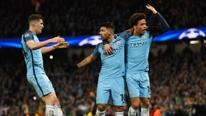 Jphn Stones, Sergio Aguero and Leroy Sane were among the goals for City