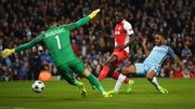 Raheem Sterling scores City's first