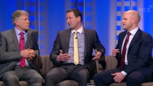 Donal O'Grady, Brendan Cummins and Dick Clerkin