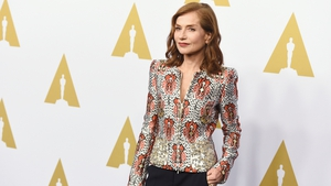 Isabelle Huppert is an Oscars this year for her role in Elle. Isabelle Huppert is an Oscars nominee this year for her role in Elle. The French icon is a model of elegance à la française. We're counting down to our live Oscars 2017 coverage on Sunday night