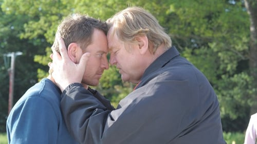 Gleeson and Fassbender play a father and son who go head to head in Trespass Against Us