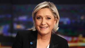 Marine Le Pen has promised to call a referendum and restore the national franc currency if elected as president in France