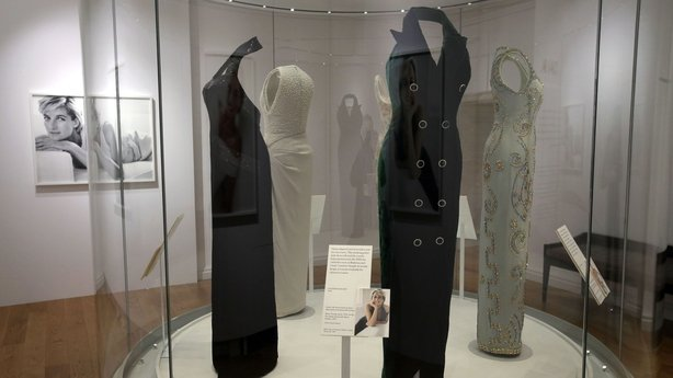 The exhibit is aptly named 'Diana: Her Fashion Story
