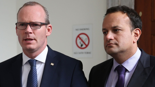 Simon Coveney and Leo Varadkar are set for the first of four consecutive nights of hustings