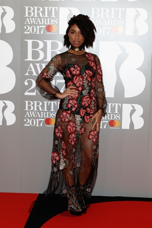 The mesmerizing Lianne La Havas was nominated for Best British Female Solo Artist. We love her transparent floral gown.