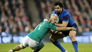 Yoann Huget returns to the France team to play Ireland