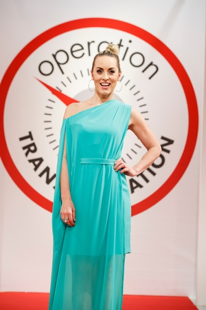 OT host Kathryn Thomas looking gorgeous as ever.