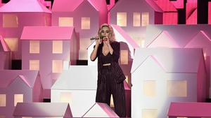 Katy Perry literally blew a house down with her performance last night