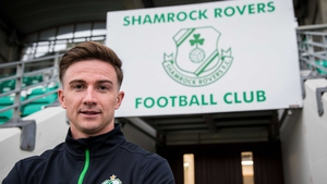 Ronan Finn was unveiled as a Shamrock Rovers player late last year