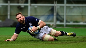 John Barclay leads Scotland against Wales
