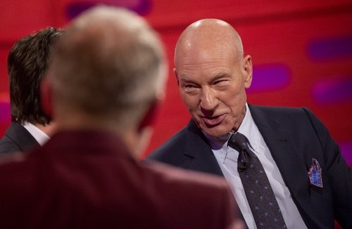 Patrick Stewart makes some very candid revelations on this week's Graham Norton Show