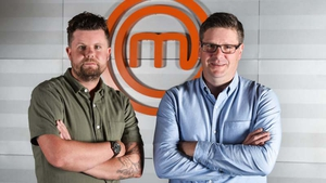 Masterchef Ireland judges Robin Gill and Daniel Clifford
