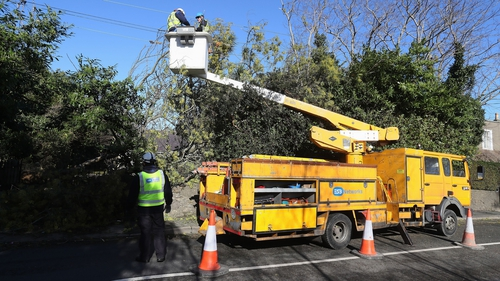 ESB crews are working to restore connections