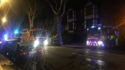 Woman and child rescued from Dublin house-fire