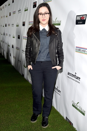 We need Shannon Woodward's leather jacket. Immediately.