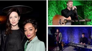 The luck of the Irish - Caitriona Balfe, Ruth Negga, Glen Hansard and Irish singing duo Glenn & Ronan attend Oscar Wilde party