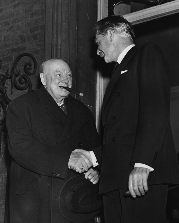Winston Churchill and Anthony Eden