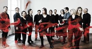 Crash Ensemble assemble, ahead of their appearance at this week's New Music Dublin bash.