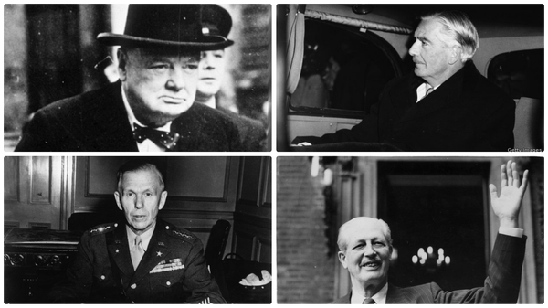 Winston Churchill, Anthony Eden, George Marshall and Harold Macmillan all played