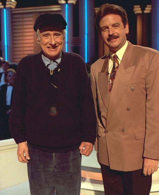 Spike Milligan and Marty Whelan (1993)