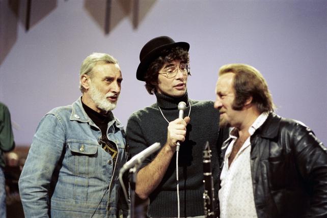 Spike Milligan, Tony Kenny and Acker Bilk (1976)
