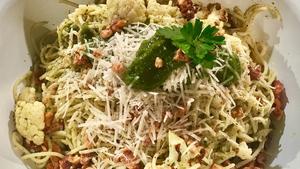 Ali Honour's Roast Cauliflower Spaghetti: Today