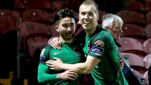 Sean Maguire was the hero for Cork City